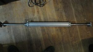 Festo Pneumatic Air Cylinder Actuator Piston Rod 44 Inches Long 17 Inch Travel