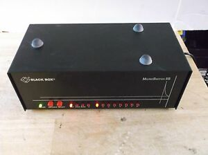 Black Box Microswitch 5s Sl003a With Power Adapter