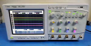 Agilent Dsa80804b 8ghz Digital Serial Analyzer Oscilloscope W Options Ssd