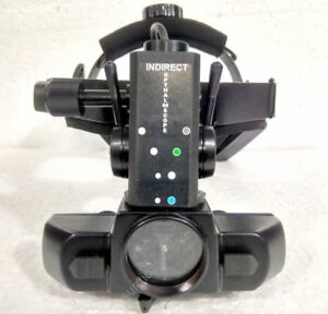 Indirect Ophthalmoscope Binocular Rechargeable Led Four Filter Indirect New