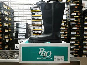 Pro Leather Fire Boots Model 4000 Nfpa 1971 2007 Edition Size 8e