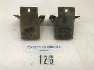 1957 1960 Ford Truck Front Cab Mounts Perches Oem