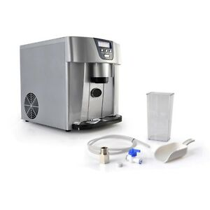 Ice Maker Dispenser Countertop Ice Cube Making Machine 2 Sizes Of Ice Cubes
