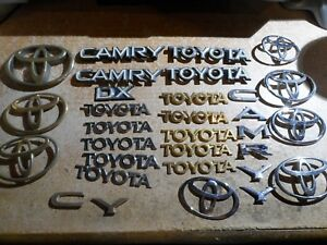 Car Toyota Emblems And Letters Mix Lot About Piece 31