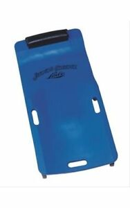 Lisle Creeper Low Profile Plastic Blue Urethane Casters Padded Headrest Each