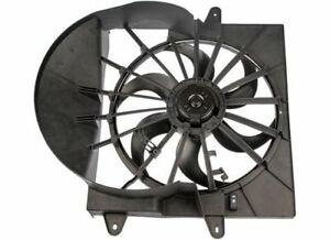 Dorman Condenser Fan Electric Single 6 Blades Shroud Plastic Black Jeep Each