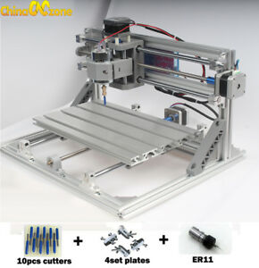 3018 Cnc Machine Router 3axis Engraving Pcb Wood Carving Diy Milling Us Stock