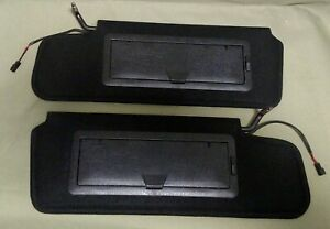Sunvisors C4 Corvette 1984 96 Pair O E Style New Pair Sun Shades