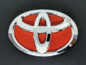 New Red Toyota Corolla 2009 2010 2011 2012 2013 Front Grille Emblem
