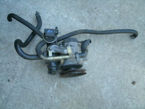 1981 Corvette Smog Air Pump With Hoses Clamps