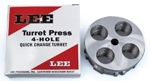 Lee Precision 4 Hole Turret Quick Change Turret   New in Package 90269