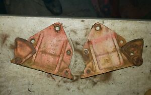 Allis Chalmers Wc Tractor Brake Cover Fender Bracket Brake Locks Ac
