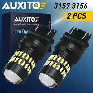 Auxito 2x 48smd 3157 3057 4057 High Power White Led Backup Reverse Light Bulbs