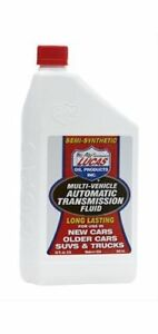 Lucas Oil Transmission Fluid Multi Vehicle Semi Synthetic Dexron Mercon One