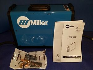 New Miller Cst 280 220 575 Volt Stick Welder Sku 907244