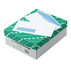 Window Envelope 10 Security Tinted 2500 box Quality Park 21412
