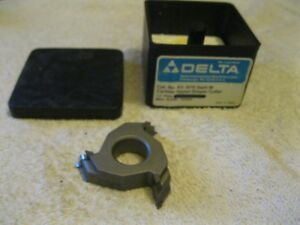 Delta rockwell Shaper Cutter Carbide Tipped 3 4 Bore 43 976 Nos