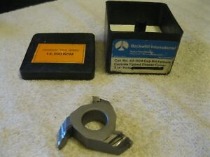 Delta rockwell Shaper Cutter Carbide Tipped 3 4 Bore 43 909 Nos