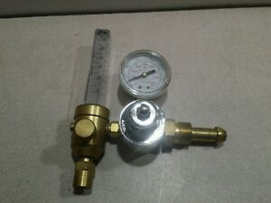 Gentec Compressed Gas Regulator Flowmeter 195ar 60 New