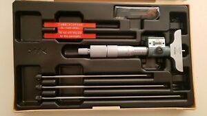 Mitutoyo Depth Micrometer Set Digital 229 127