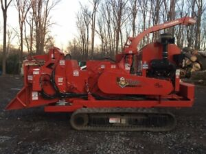 2017 Morbark M18r Track Chipper With Only 667 Hours 2410
