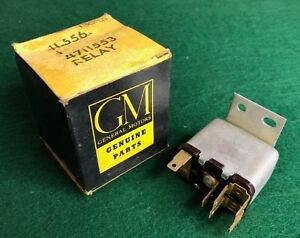 Nos 1956 1957 56 57 Buick Cadillac Power Electric Seat Adjusting Relay 4711553