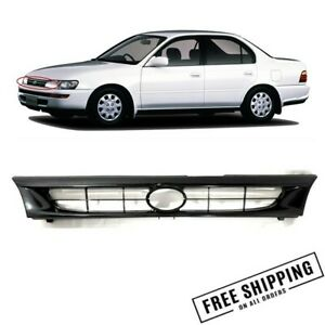 New Grille Front Hood For Toyota Corolla 1993 1997 Ae100 Ae101 Gray