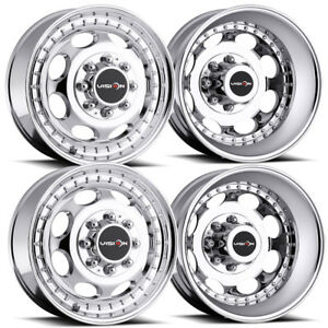 4 new 19 Vision 181 Hauler Dually Wheels 19 5x6 75 8x170 102 143 Chrome Rims