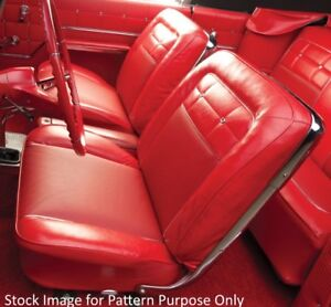 1962 Chevrolet Impala Ss Front Bucket Seat Covers