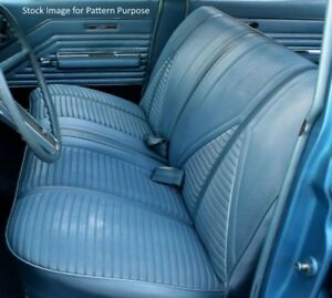 1967 Buick Skylark Gs Special Deluxe Bench Without Armrest Front Seat Cover