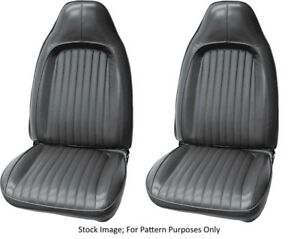 1973 Plymouth Barracuda cuda Dodge Challenger Bucket Front Seat Covers