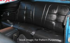 1969 Dodge Charger Daytona R t 500 Se Hardtop Rear Seat Cover