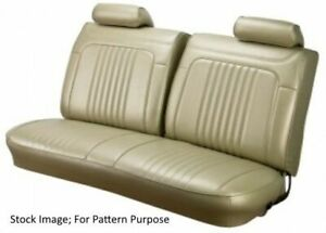 1971 72 Chevy Chevelle El Camino Front Bench Seat Cover