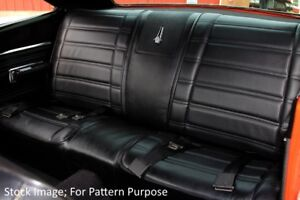1969 Plymouth Road Runner Satellite Gtx Convertible Rear Seat Cover