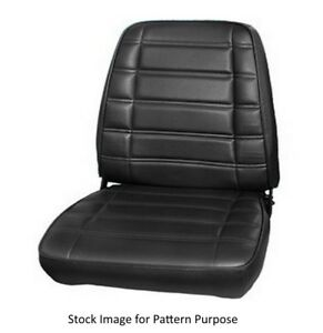 1969 Plymouth Road Runner Satellite Gtx Bucket Front Seat Covers