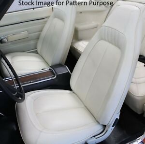 1970 Plymouth Gtx Road Runner Superbird Sport Satellite Bucket Seat Cover Pair