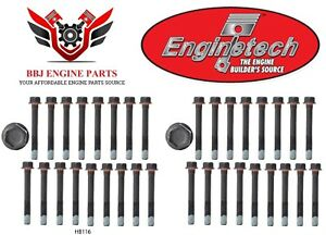 Chevy Chevrolet 6 5 6 5l Diesel Engine Enginetech Cylinder Head Bolts 92 04