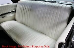 1964 Buick Skylark Coupe Rear Seat Cover