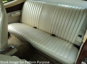 1973 Dodge Dart Sport 340 Plymouth Duster 340 Fold Down Rear Seat Cover