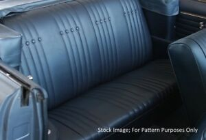 1965 Buick Skylark Gs Convertible Rear Seat Cover