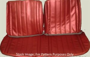 1964 Buick Skylark Bench Without Armrest Front Seat Cover