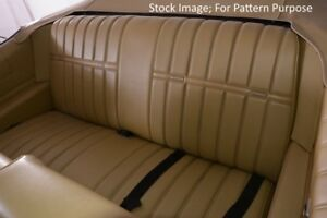 1971 1972 Chevrolet Impala Coupe Rear Seat Cover