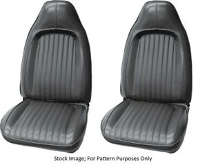 1972 Plymouth Barracuda cuda Dodge Challenger Bucket Front Seat Covers