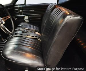 1968 Chevy Chevelle El Camino Front Bench Seat Cover