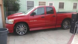 4 24 Inch Versant Rims And Tires 5 Lug Off Of My Dodge Ram 1500 Crew Cab