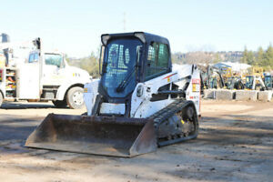 2013 Bobcat T550 1900hrs Compact Track Loader Skid Steer Cab Heat ac Tier 4