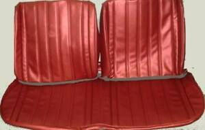 1966 Buick Skylark Gs Special Deluxe Bench Without Armrest Front Seat Cover