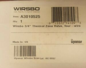 New Wirsbo A3010525 3 4 Thermal Zone Valve Lowest Price Guaranteed