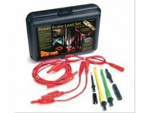 Power Probe Test Leads Gold Series Probe Type Adapters Storage Case Kit