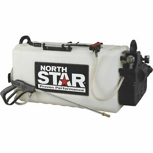 Northstar Boomless Broadcast And Spot Sprayer 26 gallon Cap 2 2 Gpm 12 Volts